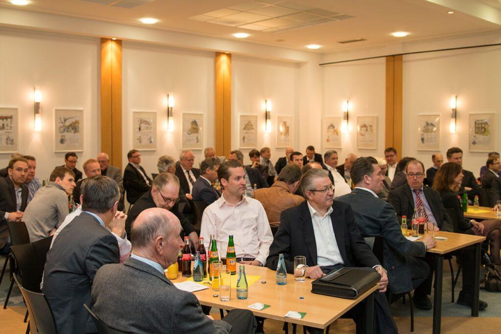 Sehr gut besucht war die Mitgliederversammlung im Casino der Stadtwerke Menden.